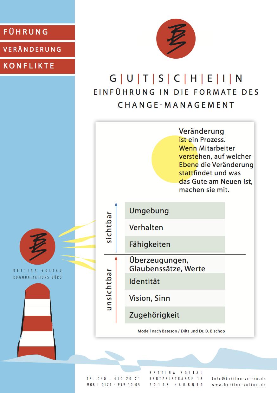 Gutschein Changemanagement - Bettina SoltauBettina Soltau